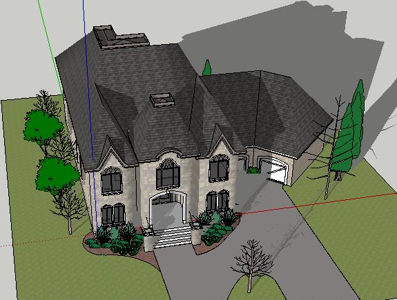 304-别墅,现代主义风格,2层(4)