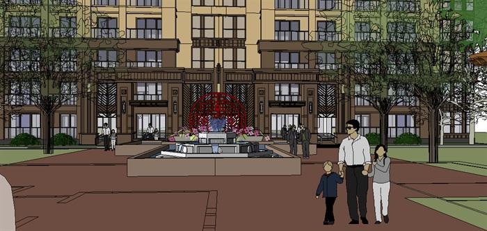 306-高层住宅,新古典主义,23层(4)