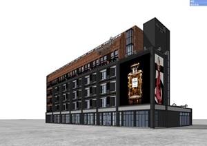 旧工厂厂房改造工业风soho住宅公寓宿舍