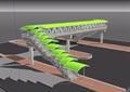 詳細的整體天橋設計su模型