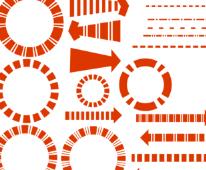 PS分析图制作各类素材汇总PS格式(2)