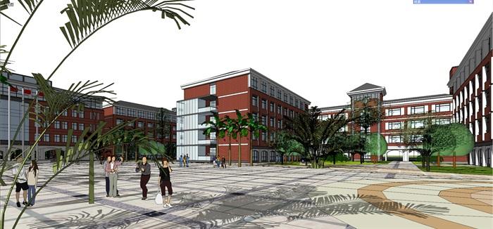 欧式新古典风格中小学贵族学校规划设计(3)