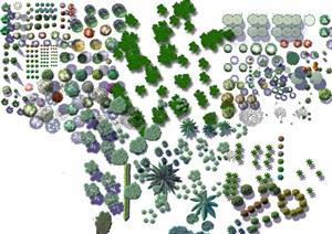 各种类型的植物psd格式素材汇集图
