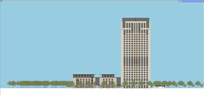 新古典风格高端典雅办公商务楼(12)