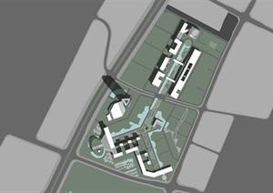 现代大型产业园工业园区规划