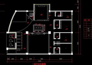 某现代别墅全套装修cad施工图