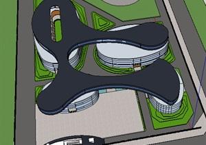 公共建筑_学校,超现代主义风格,3层_2147_0