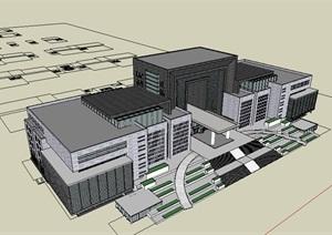 公共建筑_政府办公楼,现代风格,14层_2744_0