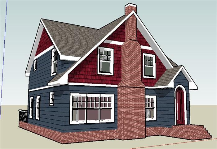 别墅,现代主义风格,户型,2层_4151_0[原创]退台别墅坡顶图图片