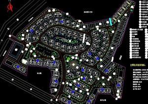 某别墅区总规划cad图