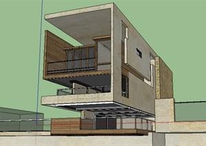 现代主义风格多层公寓5