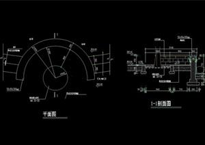 详细的树池设计cad施工图