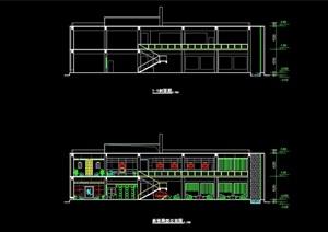 别墅多层建筑设计cad方案