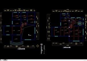 珠海别墅主楼装饰设计cad施工图