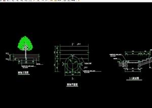 详细的整体树池设计cad施工图