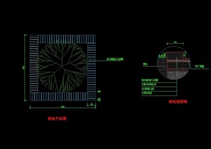树池设计cad施工图