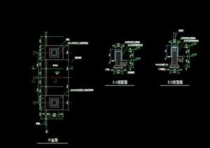 树池详细完整设计cad施工图