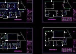 别墅装修cad方案图