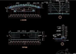 园桥石桥设计cad施工图