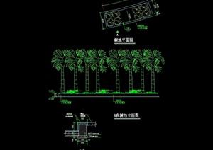 详细的完整树池cad施工图