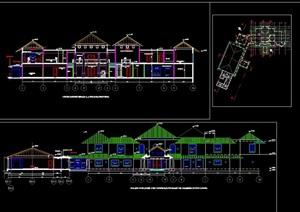 總統別墅建筑cad方案圖