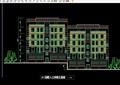 三种住宅别墅建筑设计cad方案及总图