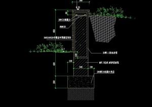花池简单设计cad方案