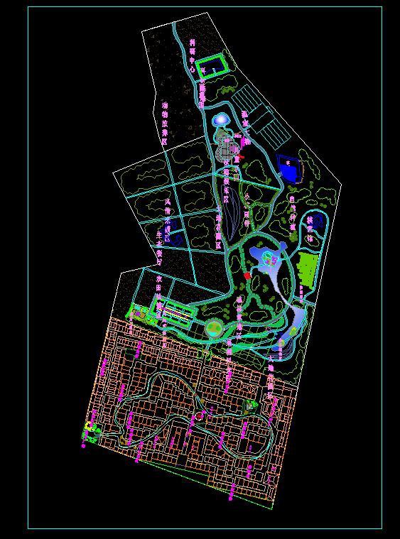 现代乡村旅游农家乐农业示范园田园综合体景观设计su模型高清效果图psd文件(1)