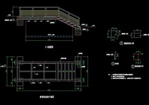 园桥详细设计cad施工图