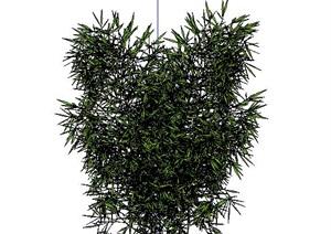 精美的竹子竹堆SU(草图大师)模型 5