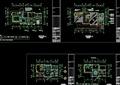 东南亚C1型别墅装修设计cad施工图