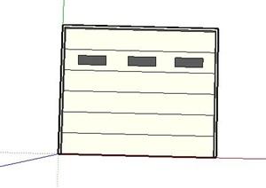 现代风格卷帘门4