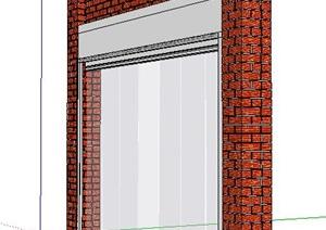 现代风格卷帘门8