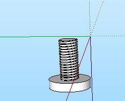 39-螺丝的SU模型设计(3)