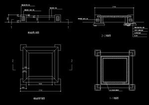 树池坐凳素材设计cad施工图