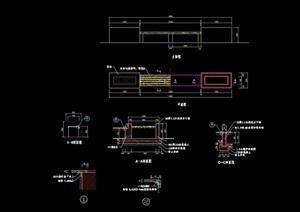 园凳整体设计cad施工图