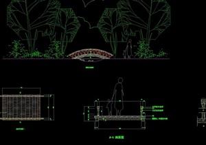 详细的完整拱桥设计cad施工图