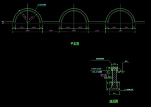 园凳详细设计cad施工图