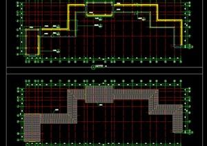 中式古典长廊及轩施工图