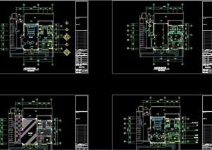 别墅装修详细完整设计cad施工图