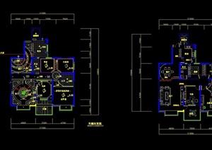 别墅装修设计cad施工图