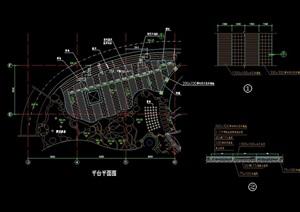 详细的景观平台cad方案