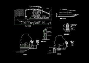 详细的完整平台cad施工图