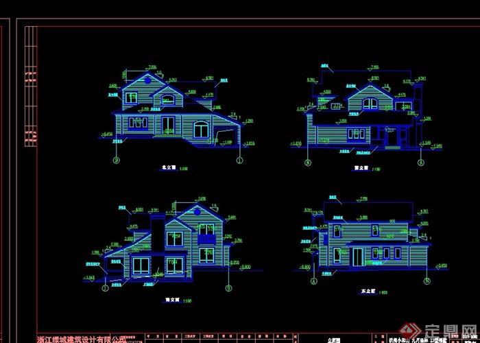 欧式一座别墅详细世界v一座cad别墅建造多层下我如何方案的风格图片