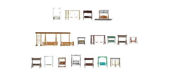 十几款秋千摇gfns椅样式(1)