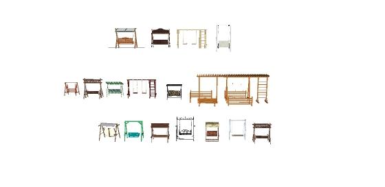 十几款秋千摇gfns椅样式(3)