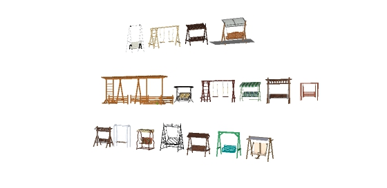十几款秋千摇gfns椅样式(5)