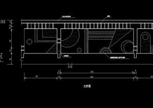 详细栏杆设计cad方案