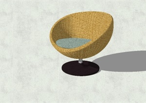两款原创手编吊椅SU(草图大师)模型 (28)