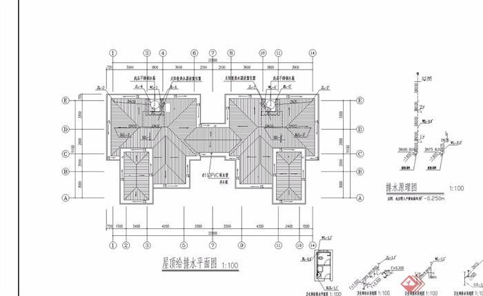 欧式两层详细的别墅设计jpg施工图